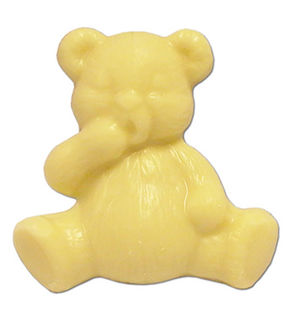 Teddy Bears White Chocolate