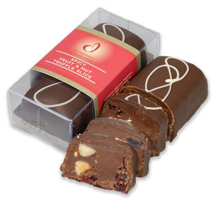 Spicy Fruit and Nut Truffle Slice90g