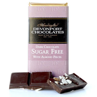 Sugar Free Dark Chocolate with Almond Pieces