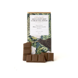 Kiwi & Fern Kiwifruit Milk Chocolate