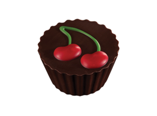 Liqueured Cherry Chocolate Cup