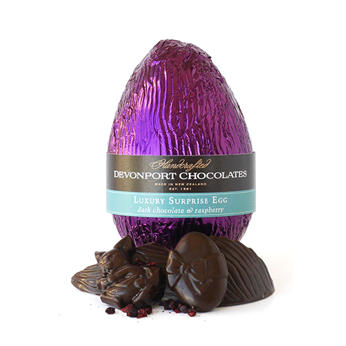 Surprise Easter Eggs Dark Chocolate and Raspberry Single