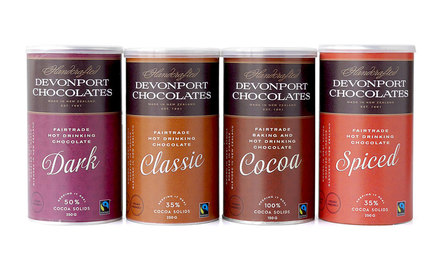 New Fairtrade Hot Chocolate Mix - Assorted Flavours