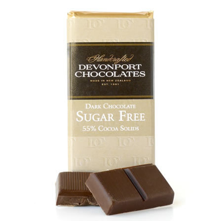Sugar Free Dark Chocolate 55% Cocoa Solids