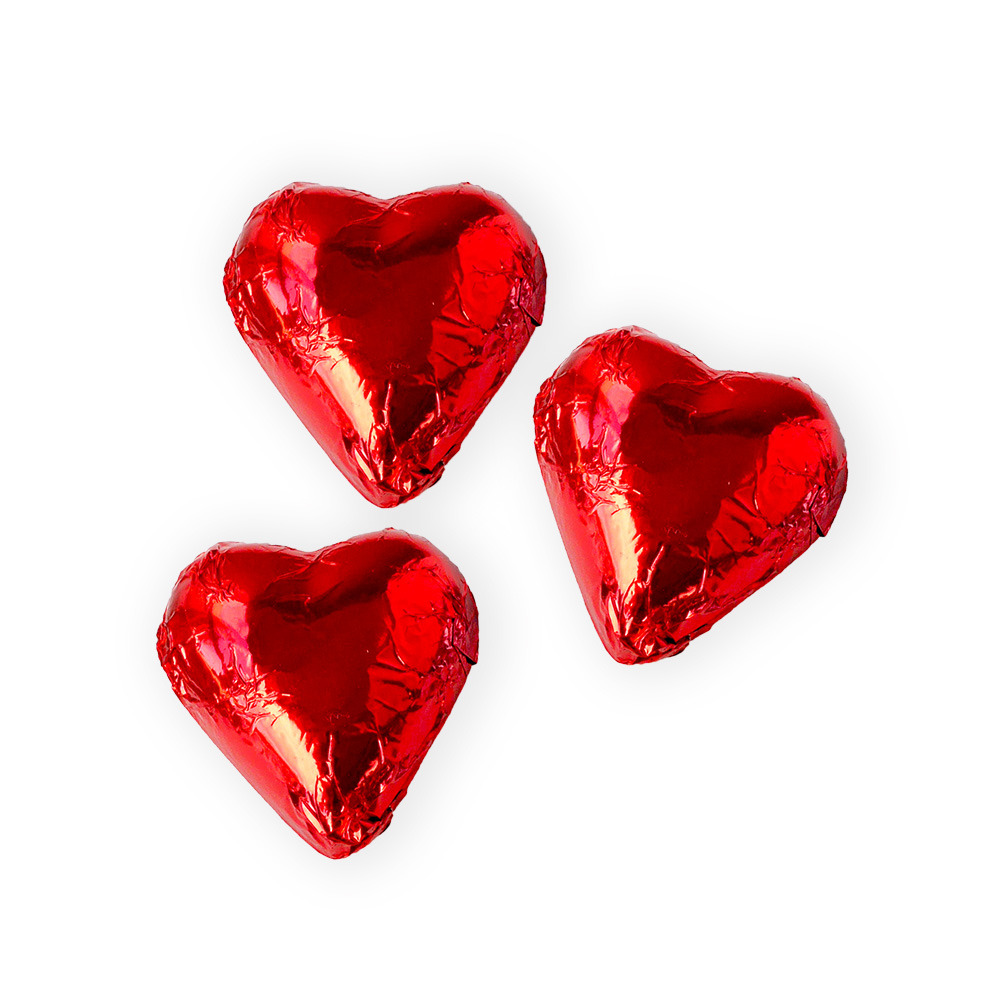Foiled Small Hearts