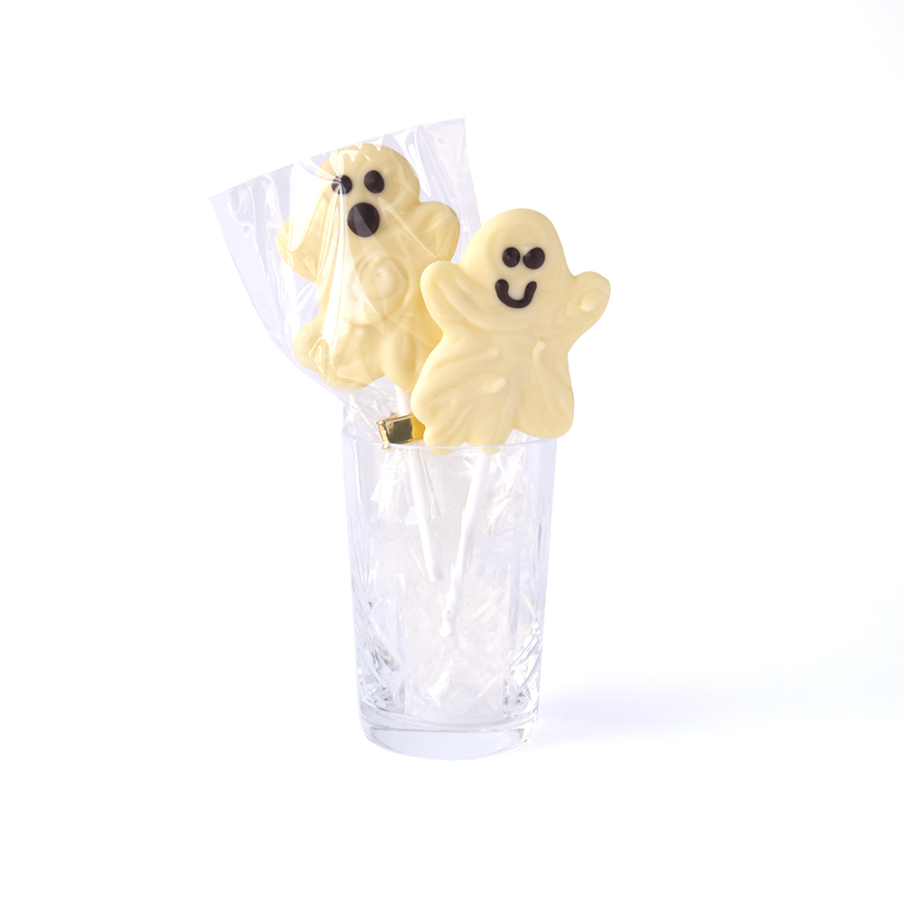 Ghosty Lollipops