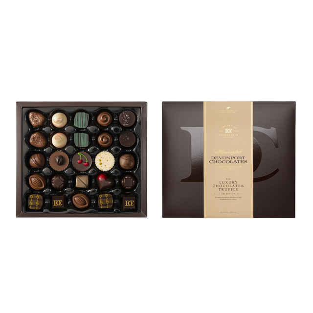 The Luxurious Chocolate and Truffle Selection